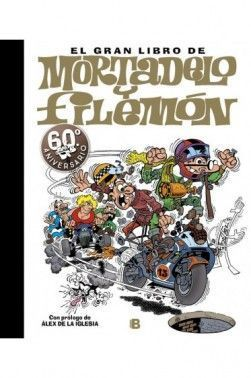 EL GRAN LIBRO MORTADELO Y FILEMON 60 ANIVERSARIO