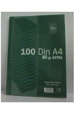 PAPEL A4 80GRS LISO 100H